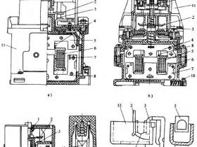 空气电磁式交流接触器:CJ20和CJ40