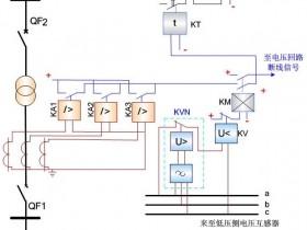复合电压启动的过电流保护