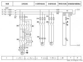 C650型卧式车床电气控制线路
