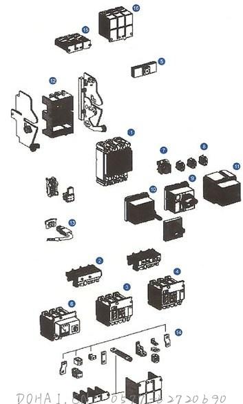 CXM2系列断路器的内外部附件