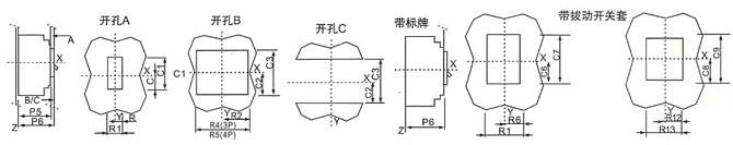 P4-126用于CXM2-250D/N/H的示意图