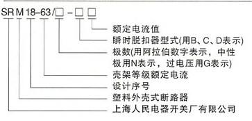 DHM18-63系列高分断小型断路器的型号及含义