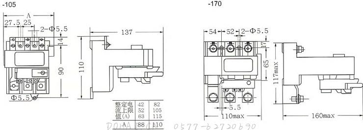 JR29-105、JR29-170的独立安装
