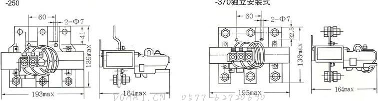 JR29-250、JR29-370的独立安装