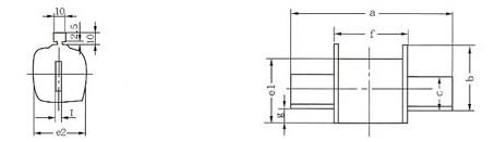 RS31~34系列熔断器的安装示意图