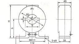 LMZJ1-0.5(5-600/5)的安装示意