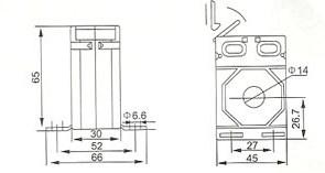 CA45-14的安装尺寸