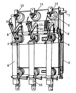 负荷隔离开关的结构