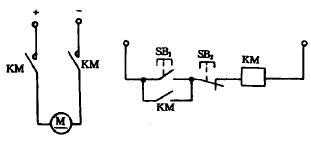 直流接触器的原理图