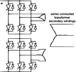 12脉冲线路换流电路