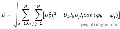 畸变无功功率计算公式