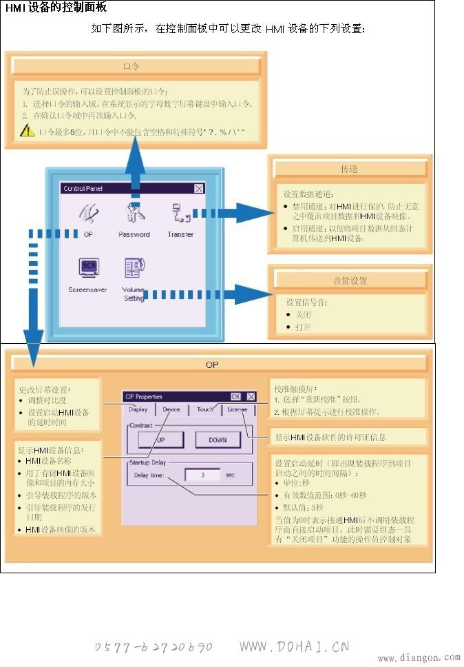 K-PT178触摸屏如何调节亮度