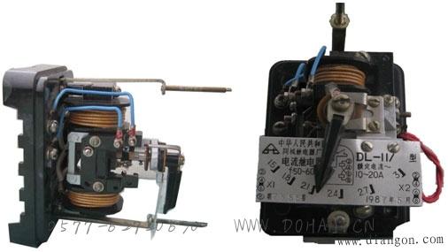 电磁型电流继电器与电磁型电压继电器