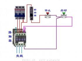 11种断路器、接触器电气控制回路接线图