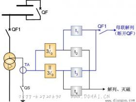 中性点直接接地变压器的零序电流保护