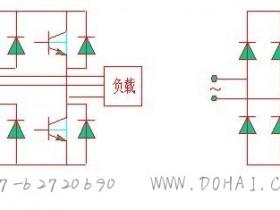 SPWM型变频器的主电路